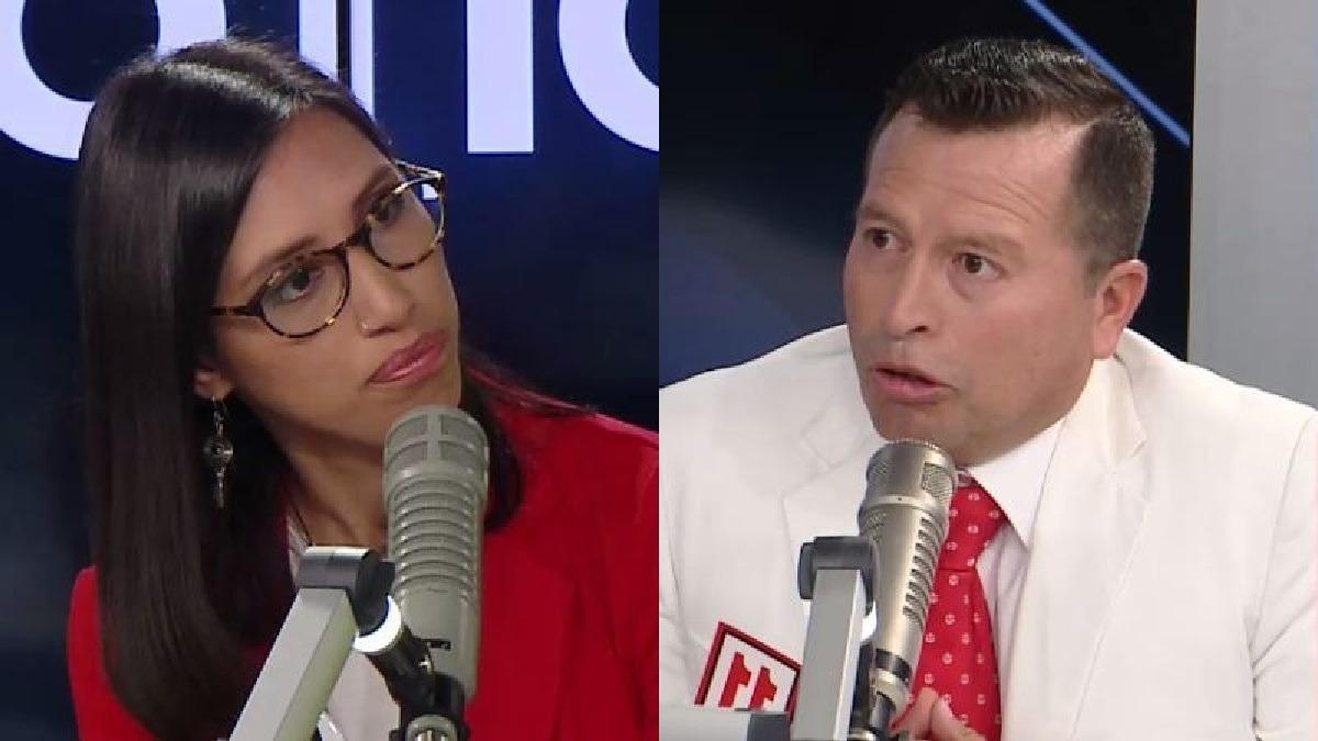Lucía Alvites Sosa, de Juntos por el Perú, y Alejandro Sánchez Pachas, de Vamos Perú, postulan al Congreso.