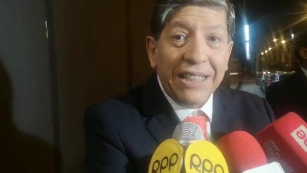 Magistrado Carlos Ramos se pronunció tras la denuncia hecha por el fiscal José Domingo Pérez contra él.