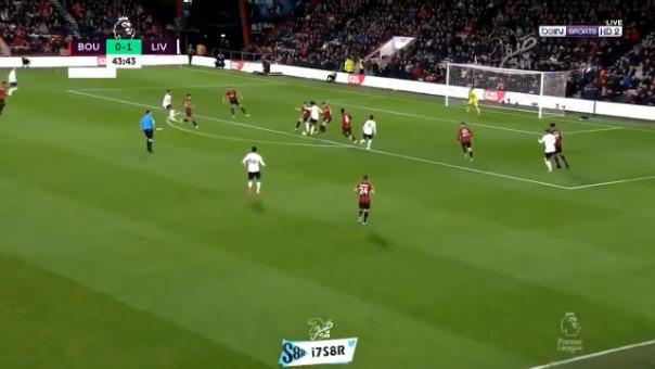 así fue el golazo de Liverpool ante Bournemouth por la Premier League