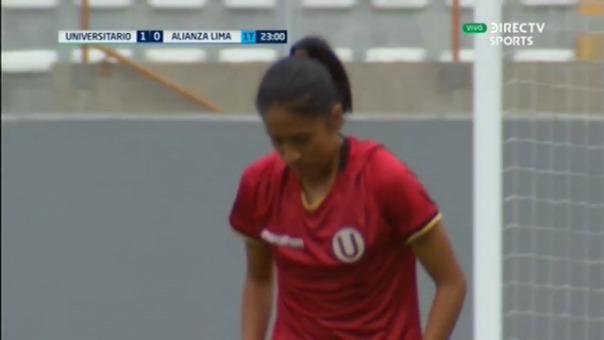 Así fue el gol de Steffani Otiniano.