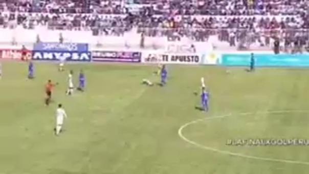 Esta fue la agresión de Aldair Rodríguez contra Wilder Cartagena.