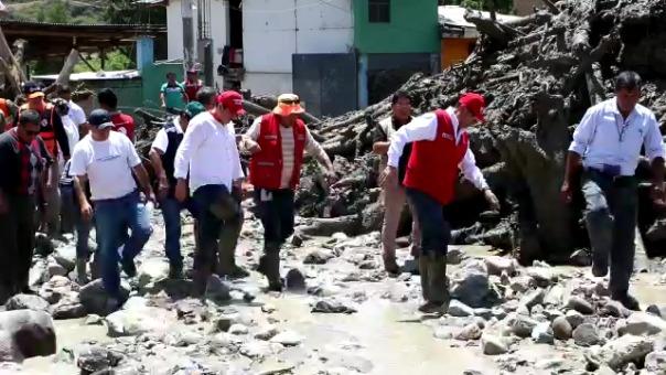 Autoridades visitan la zona para registrar los daños