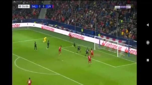 Así fue el gol de Naby Keita tras la asistencia de Sadio Mané.