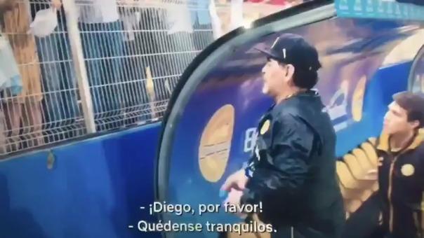 Este es el video por el que Maradona viene recibiendo serias críticas.