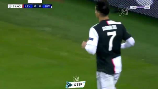 Así fue el gol de Cristiano Ronaldo ante Bayer Leverkusen.