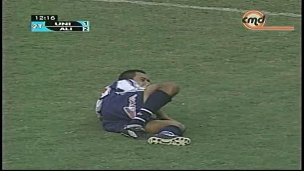 Así festejó Henry Quinteros el golazo que le marcó a Universitario con Alianza Lima