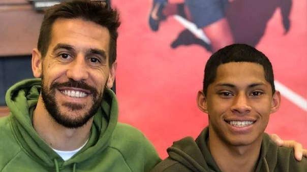 Tomás Costa demostró la gran amistad que tiene con Quevedo previo a la final en Matute
