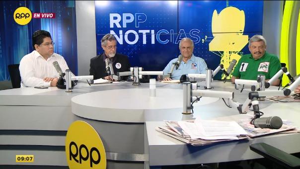 Renán Espinosa, Francisco Sagasti, Francisco Diez Canseco y Alberto Beingolea en