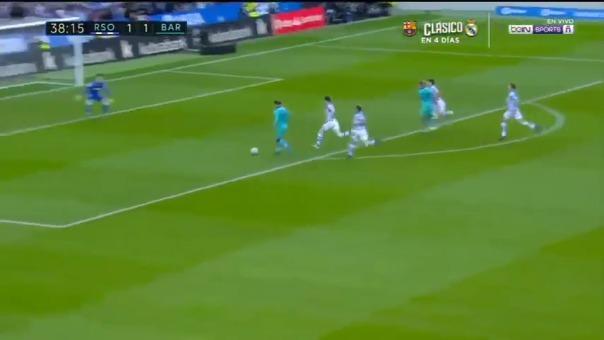 Gran corrida de Suárez y exquisita definición de Griezmann para el 1-1 de Barcelona sobre Real Sociedad