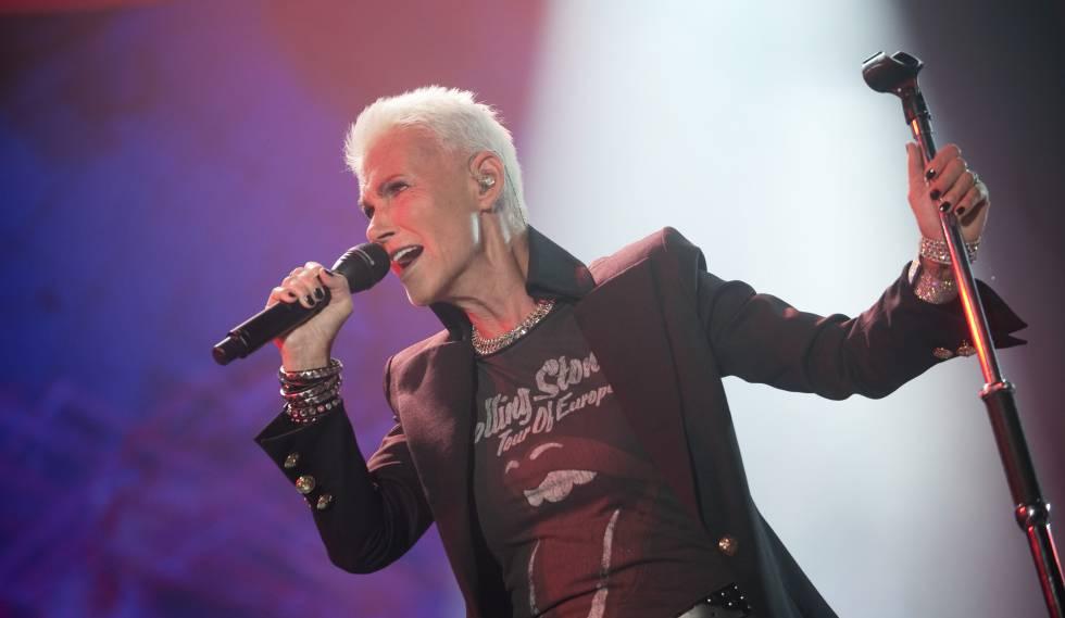 Marie Fredriksson (30/5/1958- 9/12/2019). Fredriksson se convirtió en leyenda de la música pop por ser la vocalista femenina del conocido grupo Roxette.