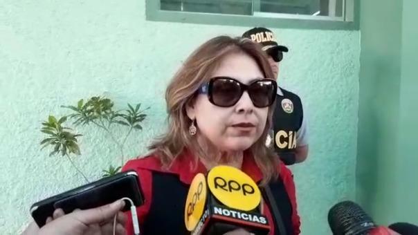 La fiscal anticorrupción Marita Cueva investiga el caso.