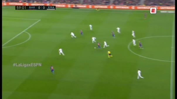 Barcelona versus Real Madrid.