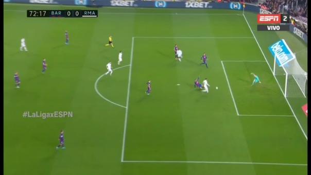 Así fue el gol anulado de Gareth Bale.