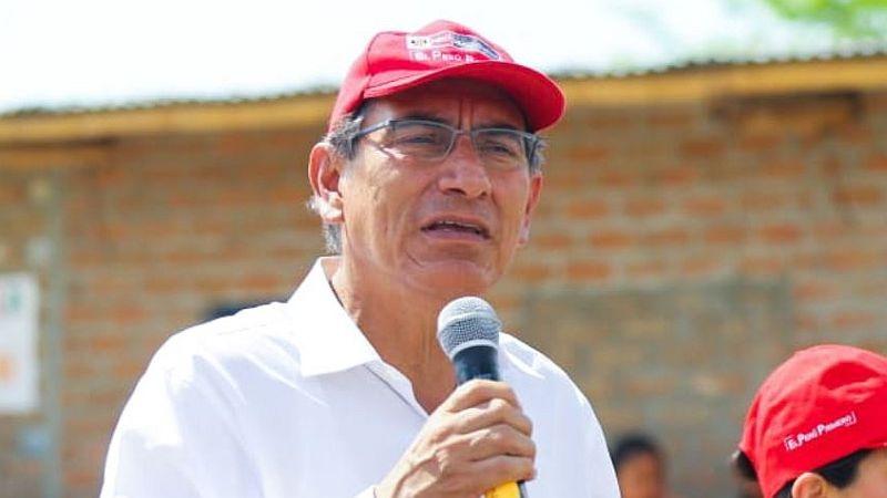 Martín Vizcarra brindó estas declaraciones en la región Piura.