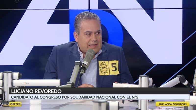 Luciano Revoredo (Solidaridad Nacional) y Grace Baquerizo (Juntos por el Perú) estuvieron en Ampliación de Noticias.