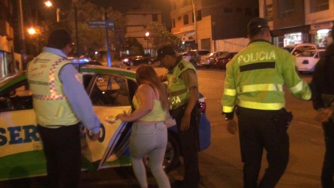 Los detenidos fueron trasladados a la comisaría de Sagitario.