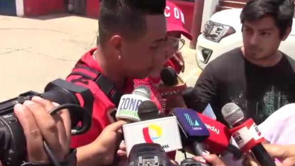 Christian Cueva habló de Juan Carlos Oblitas.