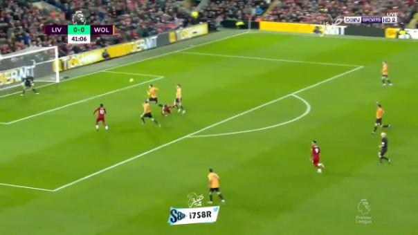 Así fue el gol de Sadio Mané ante el Wolverhampton.