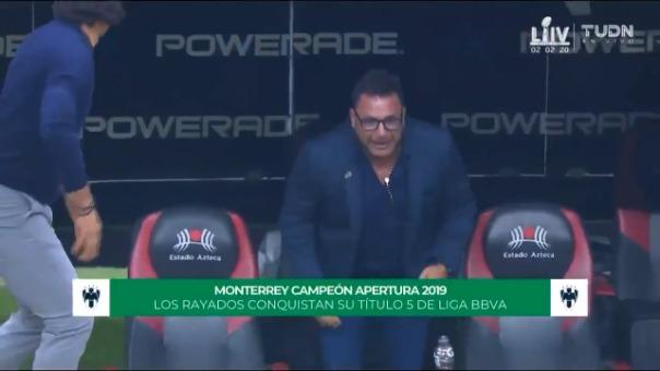 Así fue el último penal de Monterrey y la alegría de Antonio Mohamed.
