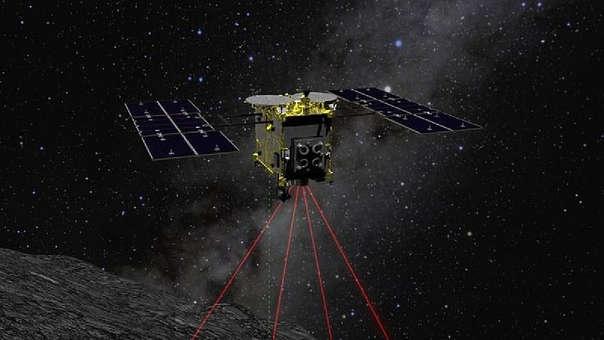 La sonda Hayabusa 2 y las muestras de un asteroide: En febrero, la sonda japonesa Hayabusa2 aterrizó en el asteroide Ryugu, situado a 340 millones de kilómetros de la Tierra, para tomar muestras que aporten datos sobre los orígenes del sistema solar. La Agencia de Exploración Espacial de Japón (JAXA) compartió en marzo un video de muestra grabado por la cámara a bordo del artefacto.