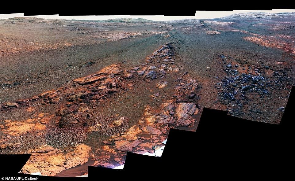 Las últimas imágenes de Marte captadas por el Opportunity: La NASA reveló las últimas imágenes captadas por el rover Opportunity antes de perder contacto con el robot en junio de 2018 y ser declarado como 'muerto' en febrero de 2019. Se trata de una toma panorámica compuesta por 354 fotografías individuales que muestra el Valle Perseverance, una locación de Marte bautizada con este nombre. Las imágenes fueron capturadas durante los 29 días previos a la pérdida de contacto de la Agencia con el robot.
