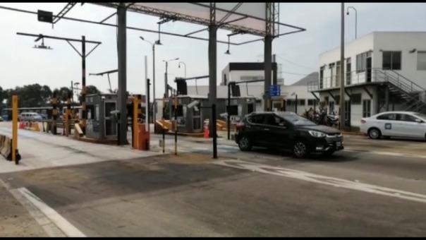 Lamsac suspendió cobro de peaje en avenida Separadora Industrial.