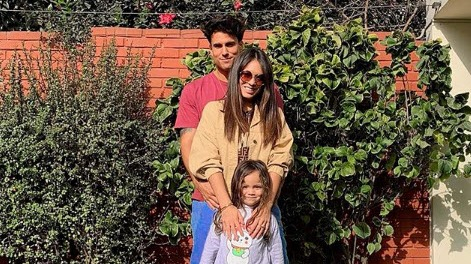 Gino Assereto compartió un video con su hija Khaleesi.