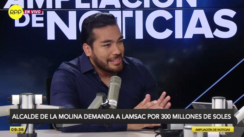 Álvaro Paz de la Barra estuvo esta mañana en Ampliación de Noticias.