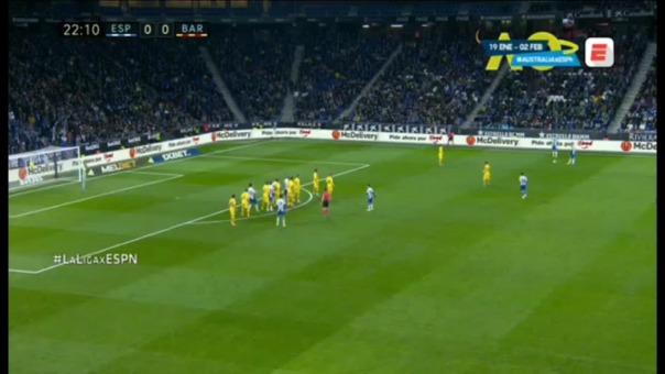 Gol de Barcelona.