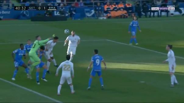 Real Madrid versus Getafe.
