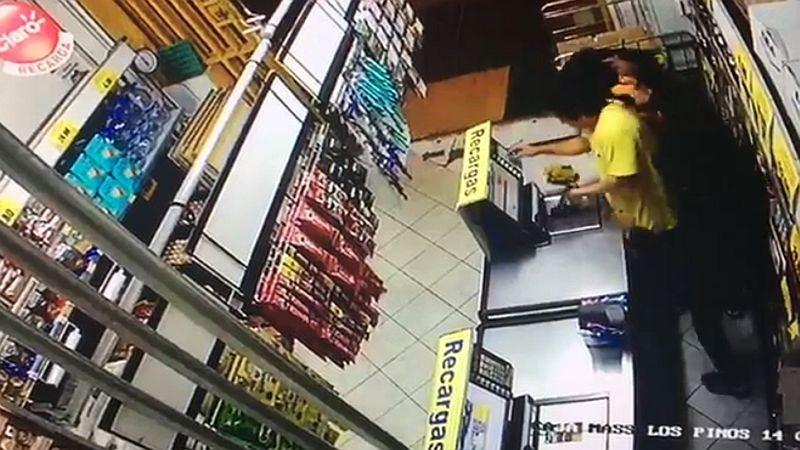 Así fue el robo registrado el pasado 2 de enero en Comas.