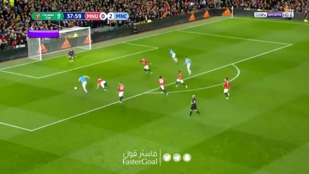Así fue el gol en propia puerta de Andreas Pereira ante Manchester City.