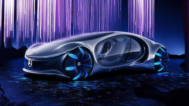 Mercedes-Benz Vision AVTR es el nombre de este futurista modelo.