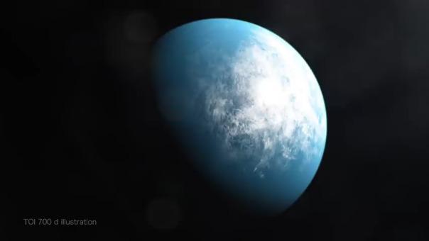 Video publicado por la NASA que explica el descubrimiento de TOI 700 d
