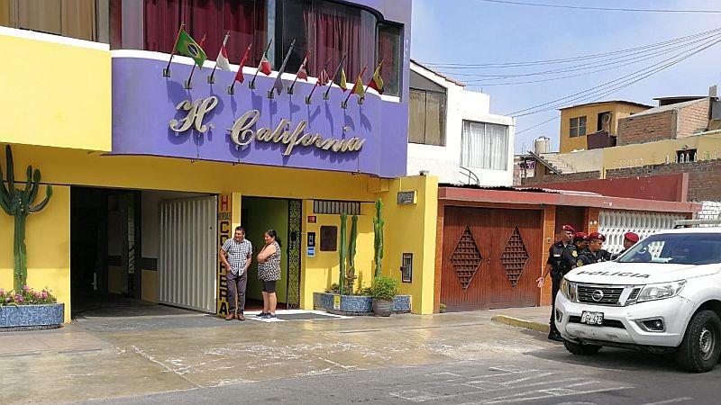 La intervención ocurrió en el hotel California, ubicado en la avenida La Marina, en el Callao.