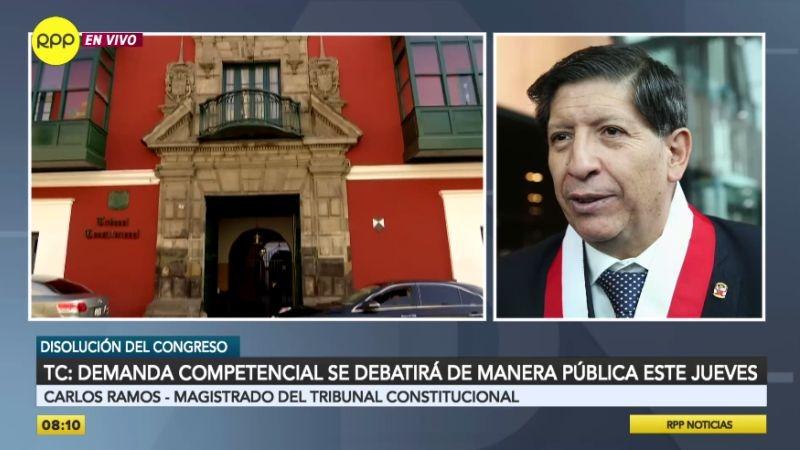 Carlos Ramos estuvo esta mañana en Ampliación de Noticias.