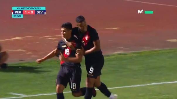 Perú abrió el marcador de José Rivera