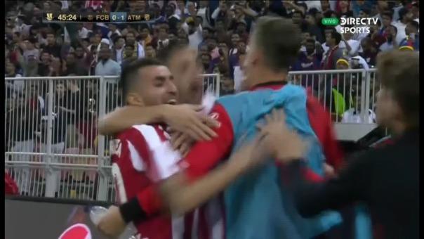 Gol de Atlético de Madrid.