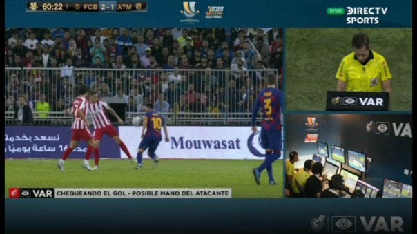 El delantero anotó otro gol, pero fue anulado.