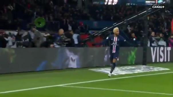 Así fue el gol de Neymar.