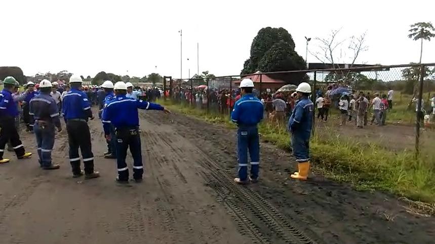 Aeródromo de Andoas administrado por el campamento de empresa petrolera Frontera Energy