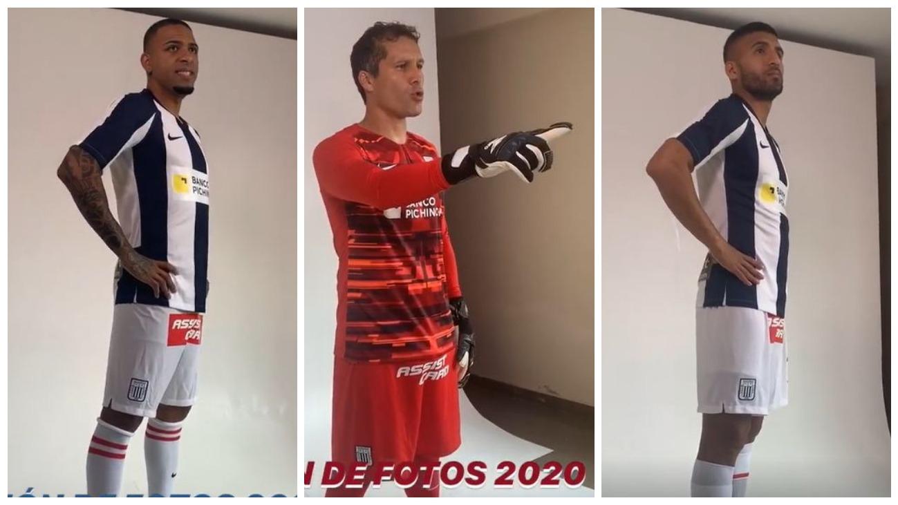 Los jugadores de Alianza Lima tuvieron sesión de fotos