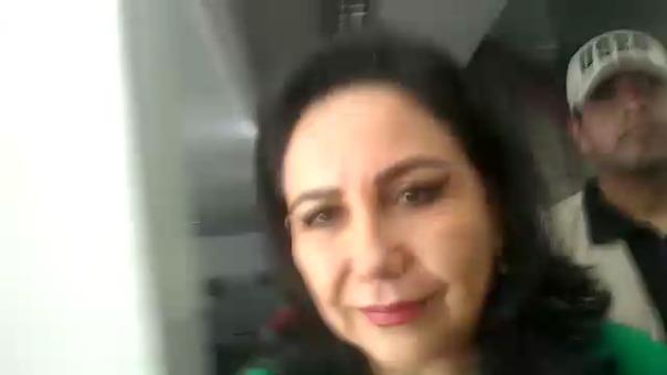 Desde Chiclayo, Gloria Montenegro saluda la decisión del Tribunal Constitucional.