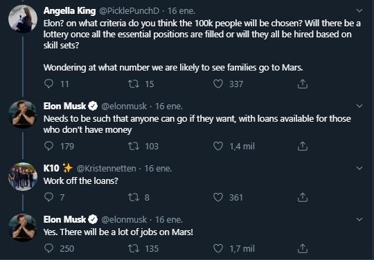 Trabajo en Marte