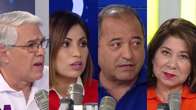 Gino Costa, Leslye Lazo, Daniel Córdova y Martha Chávez estuvieron esta mañana en Enfoque de los Sábados.