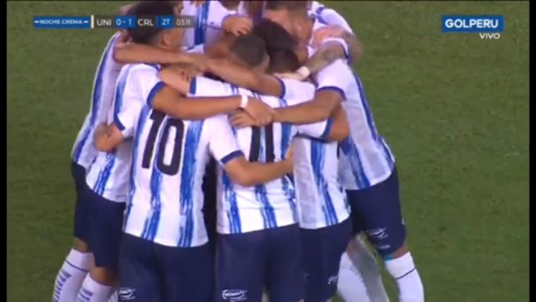 Así fue el gol de Tomás Fernández.