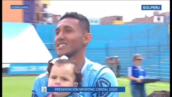 Christofer Gonzales recibió el aplauso de los hinchas de Sporting Cristal