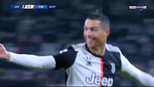Así fue el primer gol de Cristiano Ronaldo.