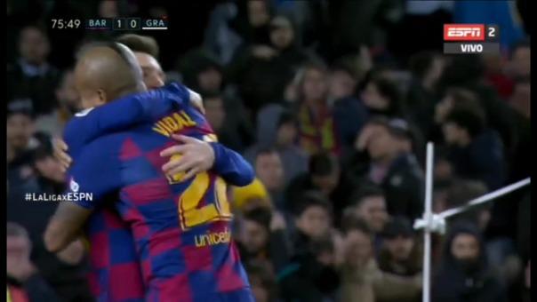 Así fue el golazo de Barcelona, con la definición de Lionel Messi.