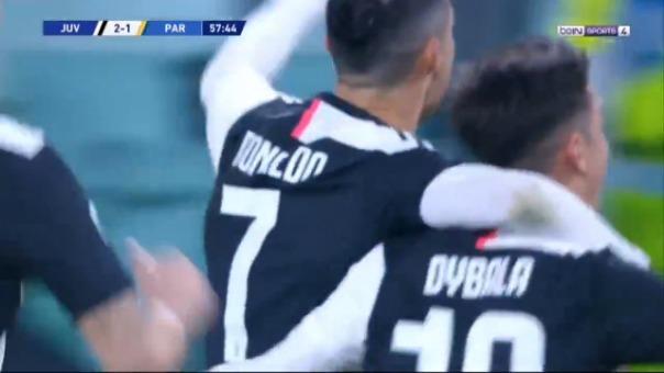 Así fue el segundo gol de Cristiano Ronaldo.